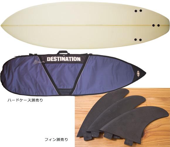 INTRO 中古ショートボード 6`5 bottom/hardcase bno96291150a