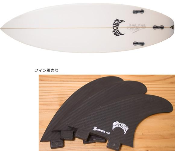 LOST V2-SB 中古ショートボード 5`10 bottom/付属品 bno96291151a