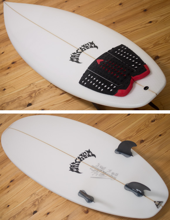 LOST V2-SB 中古ショートボード 5`10 deck/bottom-detail bno96291151b
