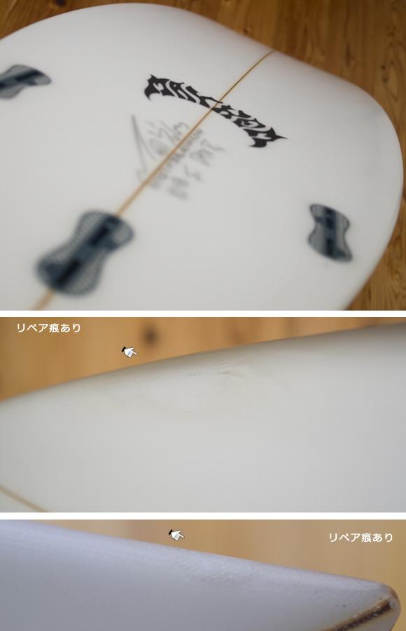 LOST V2-SB 中古ショートボード 5`10 condition/repair bno96291151e