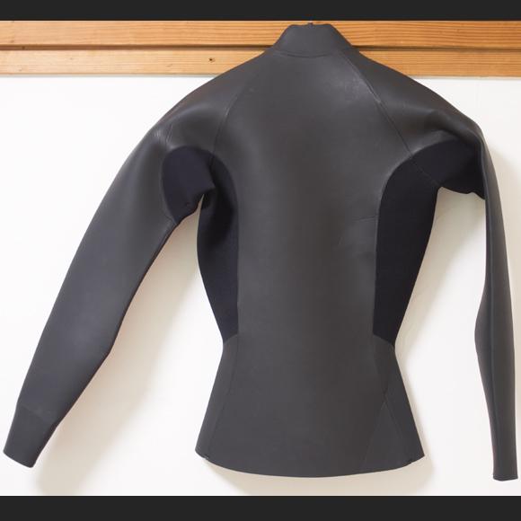 THW 中古ウェットスーツ 長袖タッパー フロントジップ Ladies'  back bno96291156b