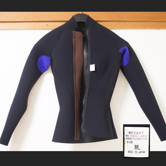 THW 中古ウェットスーツ 長袖タッパー フロントジップ Ladies'  condition bno96291156c