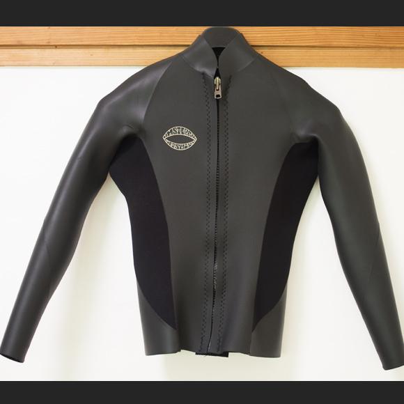 Amsterdam 中古ウェットスーツ 長袖タッパー フロントジップ  Men's ML front bno96291157a