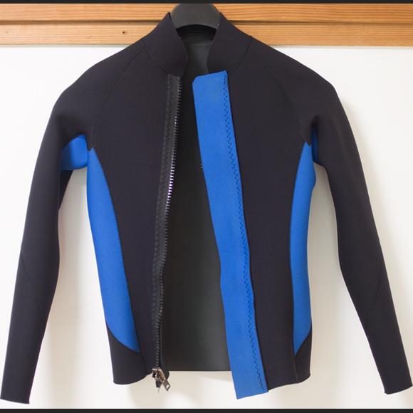 Amsterdam 中古ウェットスーツ 長袖タッパー フロントジップ  Men's ML condition bno96291157c