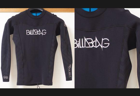 Billabong 中古ウェットスーツ 長袖タッパー AIRLITE SUPERFLEX G3 bno96291158im1