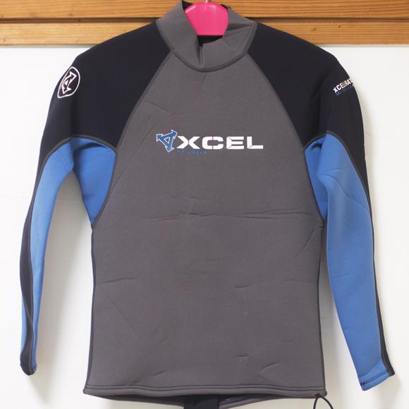 XCEL 中古ウェットスーツ長袖タッパー XCELERATOR ULTRAFLEX 2.0 front bno96291161a