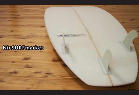 BRIAN INGHAM 中古ファンボード 6`6 bottom-design bno96291163im3