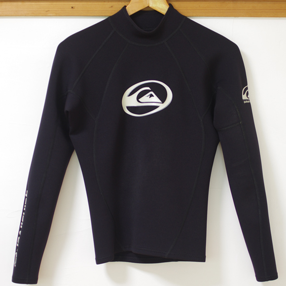 QUIKSILVER 中古ウェットスーツ 長袖タッパー GS1 front bno96291164a