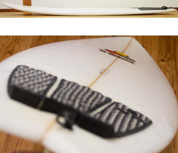 アルメリック The POD 中古ショートボード 5`10 deck-condition bno96291167c