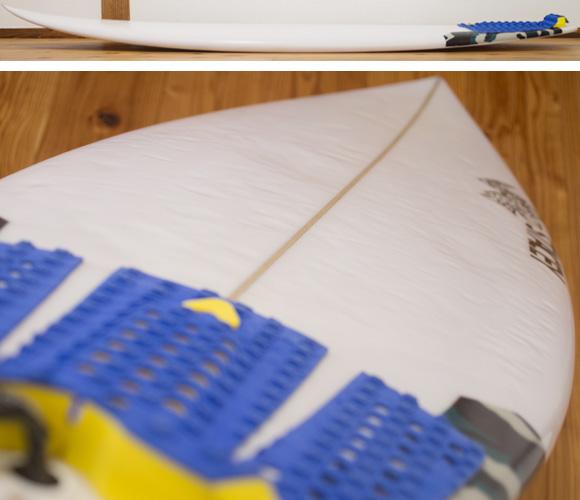 ステイシー BOUNTY HUNTER 中古ショートボード 6`0 deck-condition bno96291172c