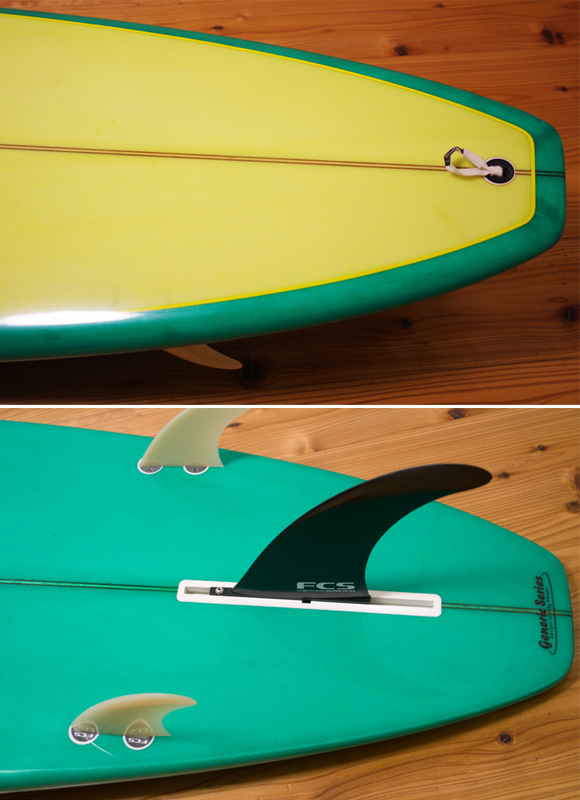GENERIC SERIES Greg Webber 中古ロングボード 9`2 fin/tail bno96291177d