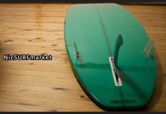GENERIC SERIES Greg Webber 中古ロングボード 9`2 bottom-design bno96291177im3