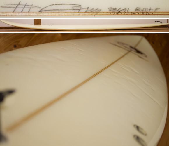 タウンアンドカントリー BULLIT 中古ファンボード 7`4 deck-condition bno96291178c