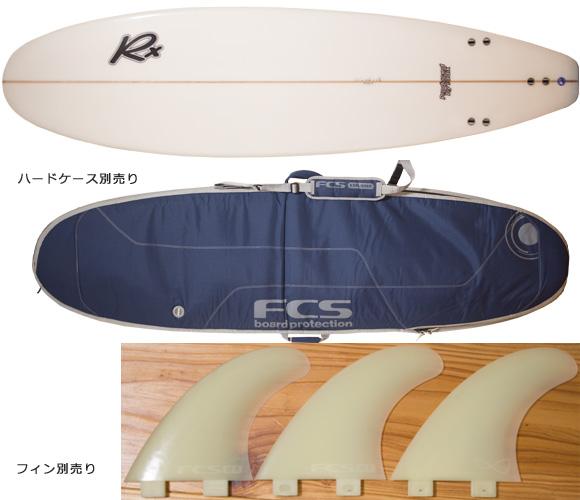 RADIX 中古ファンボード 7`0 bottom/ハードケース bno96291179a