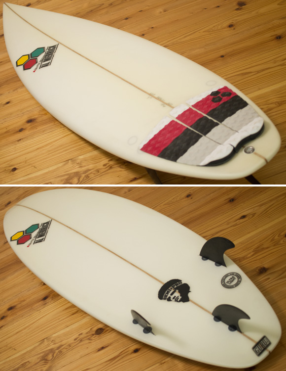 ALMERRIC Semi Pro 中古ショートボード 5`9 deck/bottom-detail bno96291180b
