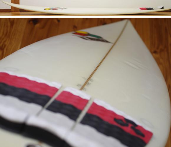 ALMERRIC Semi Pro 中古ショートボード 5`9 deck-condition bno96291180c