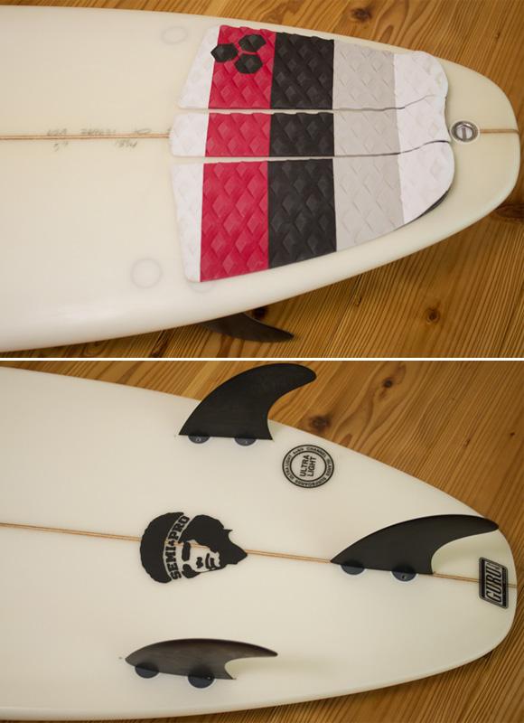 ALMERRIC Semi Pro 中古ショートボード 5`9 fin/tail bno96291180d