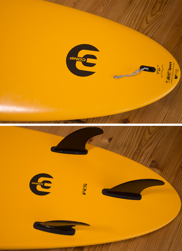 BIC SPORT 中古ファンボード 7`6 fin/tail bno96291183d