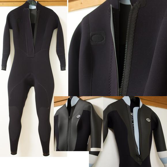 DOVE 中古ウェットスーツ 3/2mm フルスーツ CLASSIC-COQUILLAGE condition bno96291192c
