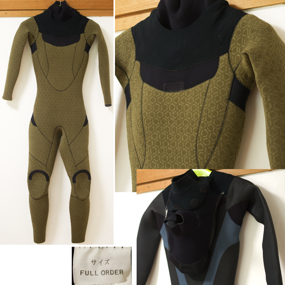 NUMBER rider suits 中古ウェットスーツ  5/3mm セミドライ condition bno96291198c