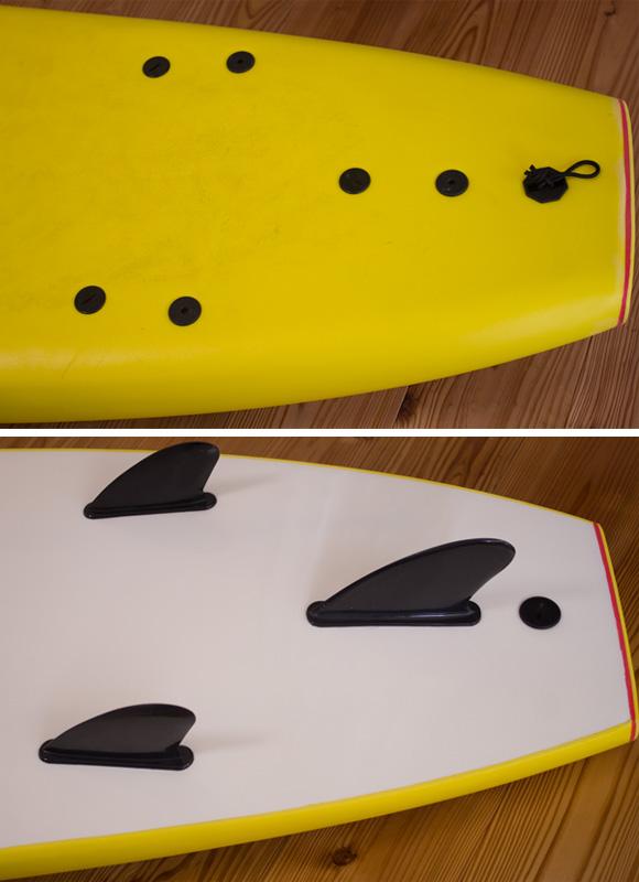 ソフトボード FROW 中古ロングボード 9`0 fin/tail bno96291200d
