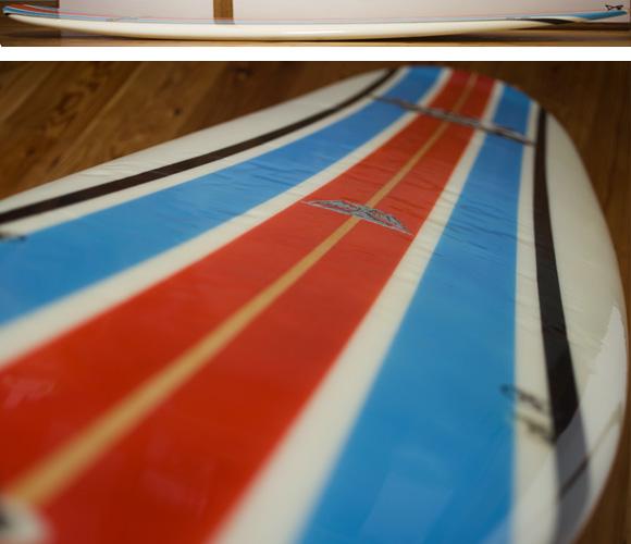 INDEX KROWN 中古ロングボード 9`2 deck-condition bno96291201c