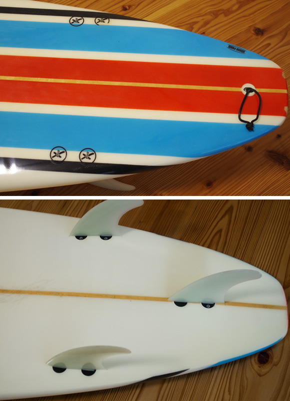 INDEX KROWN 中古ロングボード 9`2 fin/tail bno96291201d