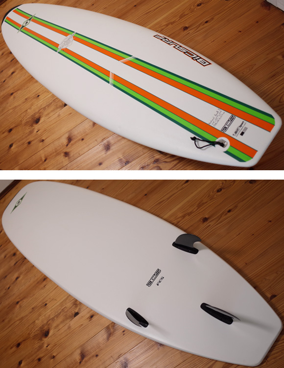 BIC SPORT 中古ファンボード 7`9 deck/bottom-detail bno96291207b
