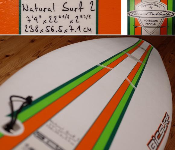 BIC SPORT 中古ファンボード 7`9 deck-condition bno96291207c