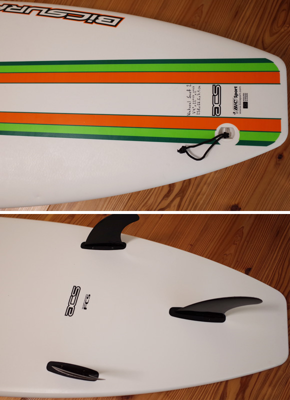 BIC SPORT 中古ファンボード 7`9 fin/tail bno96291207d