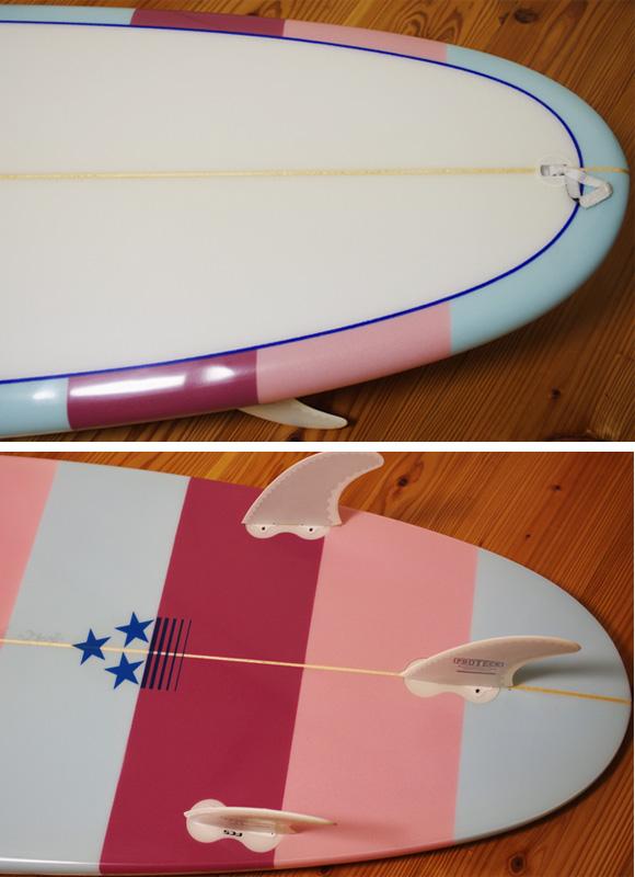 初心者向け・中古ファンボード 6`6 fin/tail bno96291209d