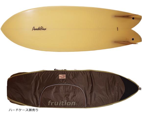 PENDOFLEX FISH 中古フィッシュボード 5`6 bottom/ハードケース bno96291210a