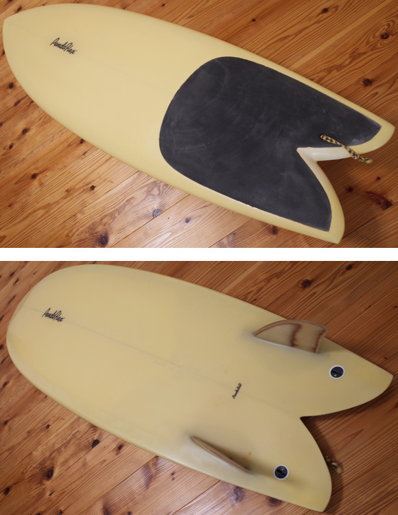 PENDOFLEX FISH 中古フィッシュボード 5`6 deck/bottom-detail bno96291210b