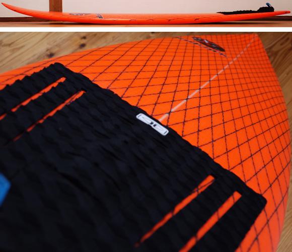 INSPIRE BUNNY HIP 中古ショートボード 5`11 deck-condition bno96291211c