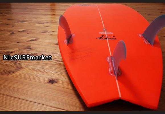 INSPIRE BUNNY HIP 中古ショートボード 5`11 bottom-design bno96291211im3
