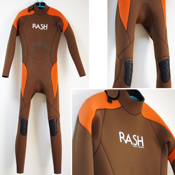 RASH 中古ウェットスーツ 3/2mm フルスーツ