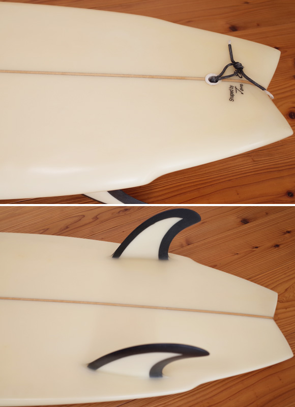 JOEL TUDOR 中古ショートボード 80's TWIN FISH 5`10 tail bno9629928im1