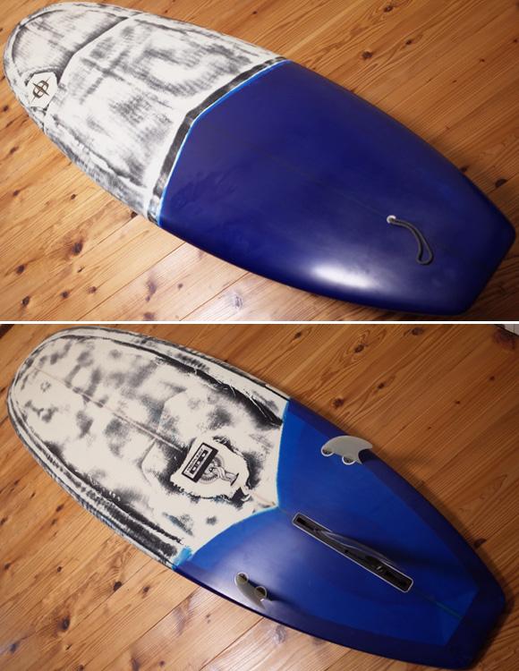 REVELATION Surfboards 中古ファンボード 7`0 yeti deck/bottom 96291229