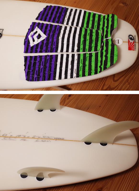 JS 中古ショートボード 6`3 JAPAN MODEL tail 96291230