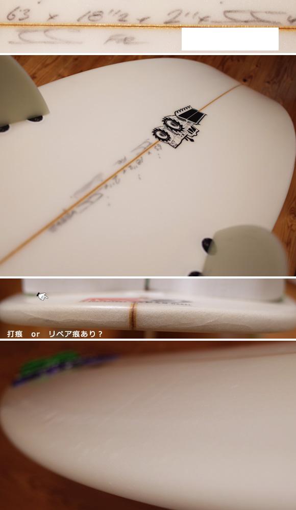 JS 中古ショートボード 6`3 JAPAN MODEL condition 96291230