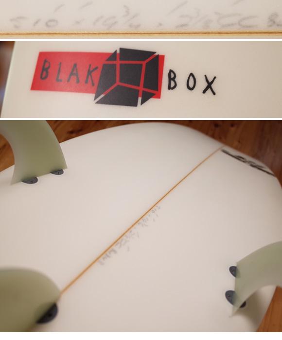 JS 中古ショートボード 5`10 BLACK BOX condition 96291231