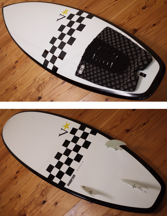 SURFUS 中古ショートボード 5`8 EPS deck/bottom 96291233