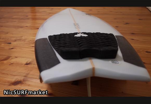 アルメリック ハイファイブ 中古ショートボード 5`10 deck-detail 96291236