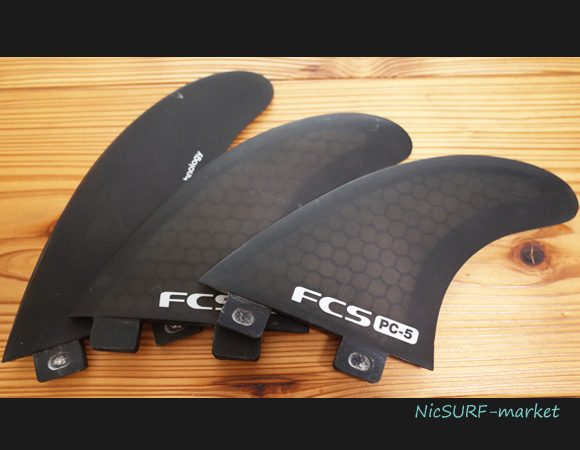 FCS PC-5トライ 中古フィン Japan Limited Black Model 96291242