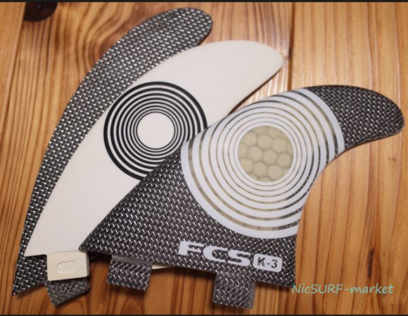 FCS K3 PC TRY 中古フィン 96291243