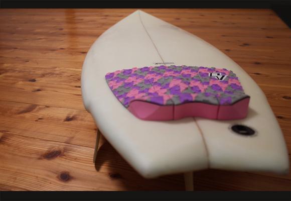 スリーウェザー 中古ショートボード 6'2 5FIN deck-detail 96291244