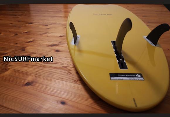 スリーウェザー HAPPY TURN 中古ファンボード 7`2 bottom-design 96291247