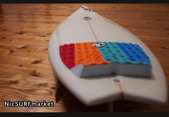 JS COMBAT 中古ショートボード 6`0 deck-detail 96291248