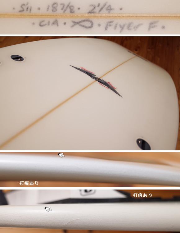 アルメリック Flyer-F 中古ショートボード 5`11condition 96291249