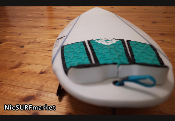 Hammo Pocket Rocket 中古ショートボード 5`4 deck-detail No.96291250